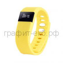 Смарт браслет PortobelloTrend The One желтый электронный дисплей, силикон SB1701-075