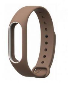 Ремешок для браслета Xiaomi Mi Band 2 коричневый