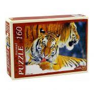 """Пазлы """"Два тигра"""", 160 элементов."""