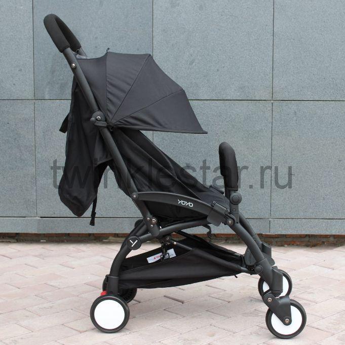 Прогулочная коляска YoYa 175 черный + 11 подарков