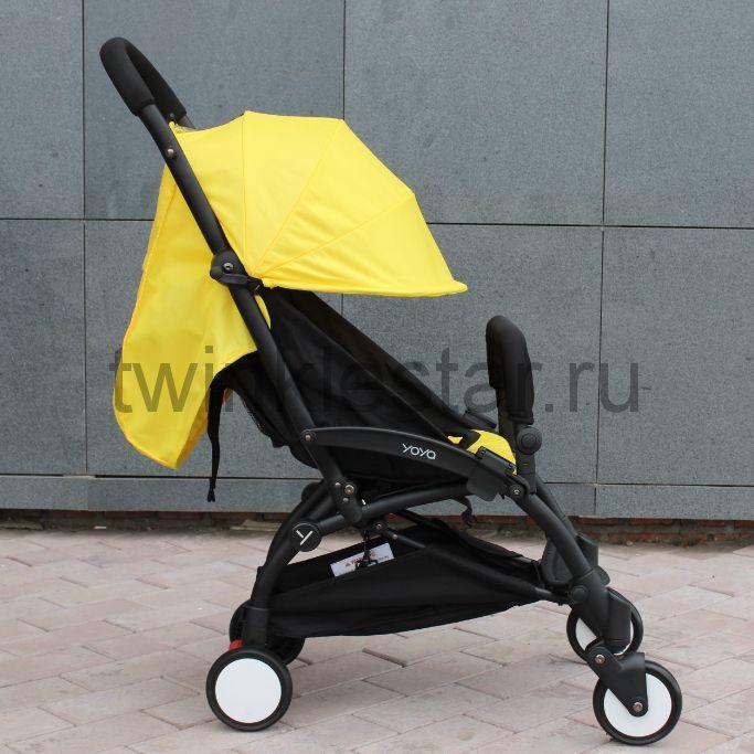 Прогулочная коляска YoYa 175 желтый + 11 подарков