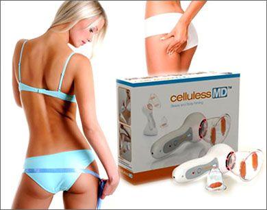 Массажер вакуумный антицеллюлитный Celluless MD