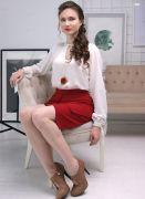 красивая короткая юбка