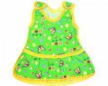 Сарафан на кнопках C-PL330-SUr   Зеленый   Мамин Малыш