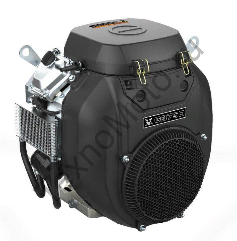 Двигатель Zongshen ZS GB750E (30 л.с.) горизонталный вал 25,4 мм