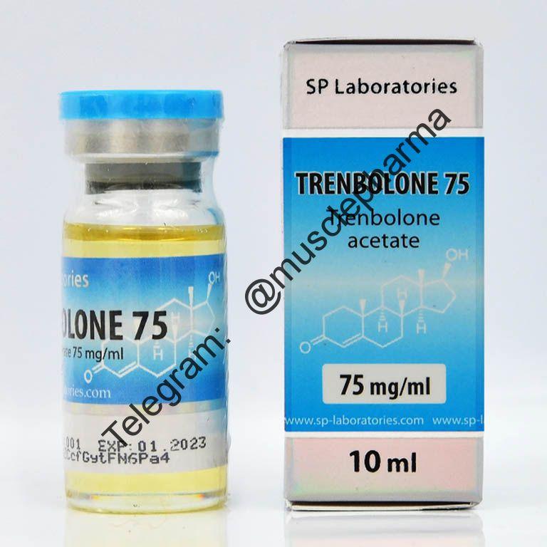 TRENBOLON 75 (ТРЕНБОЛОН АЦЕТАТ) SP Laboratories. 1 флакон * 10 мл.