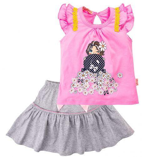 Комплект для девочки 2-6 лет BK336KP6