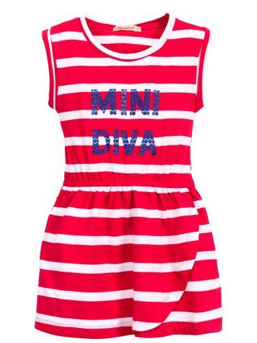 Платье в полоску для девочек 3-7 лет BK1029P