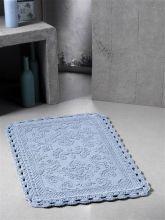 Коврик для ванной  DARIN 55*85 (голубой)  Арт.5109-4