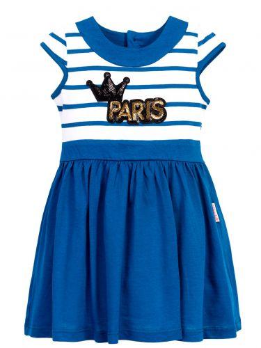 Платье в полоску для девочек 2-6 лет BN1025P2