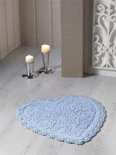 Коврик для ванной SISLEY 60*65 (голубой)  Арт.5110-3