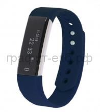 Смарт браслет PortobelloTrend Only синий электронный дисплей, силикон SB1801-030