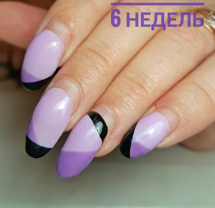 Наращивание ногтей типсами