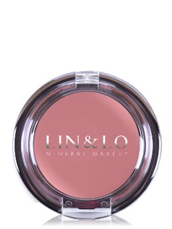 LIN&LO Румяна-помада кремовые LLBC07 дымчато - розовый
