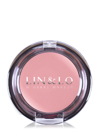 LIN&LO Румяна-помада кремовые LLBC02 искрящийся ирис