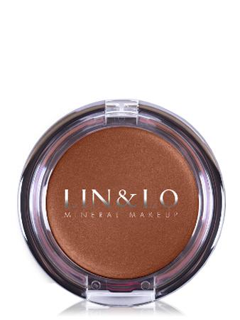 LIN&LO Румяна-помада кремовые LLBC05 коричнево - медный