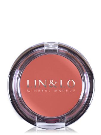 LIN&LO Румяна-помада кремовые LLBC04 манго