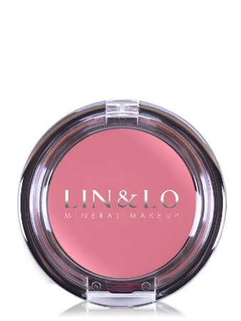 LIN&LO Румяна-помада кремовые LLBC09 нежная роза