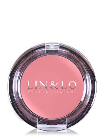 LIN&LO Румяна-помада кремовые LLBC06 розовый лепесток
