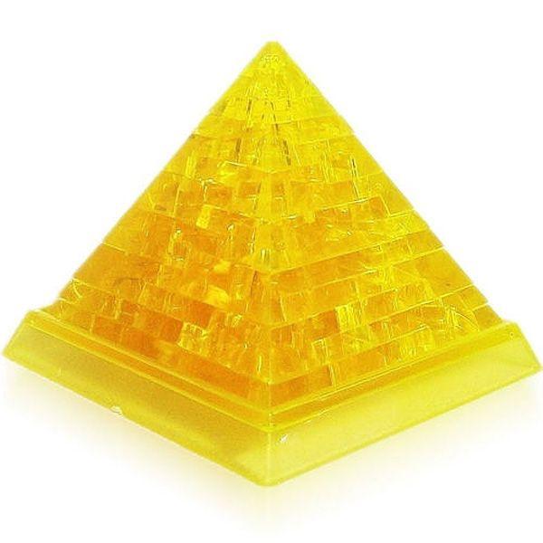 Головоломка 3D Пирамида желтая