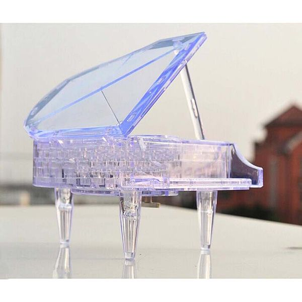 Головоломка 3D Рояль прозрачная