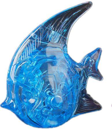 Головоломка 3D Рыбка синяя