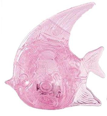Головоломка 3D Рыбка розовая