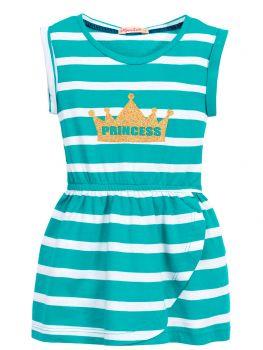 Платье в полоску для девочек 3-7 лет BN1029P1