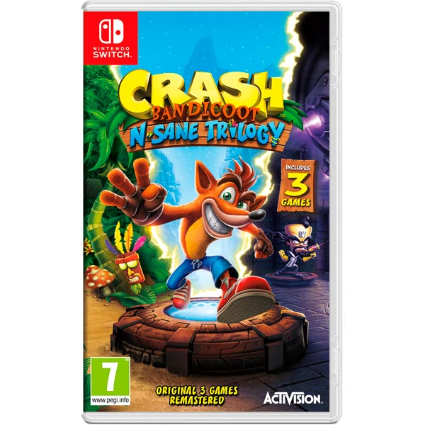 Игра Crash Bandicoot N.Sane Trilogy (Nintendo Switch)