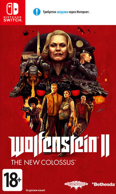 Игра Wolfenstein II : The New Colossus (Nintendo Switch)