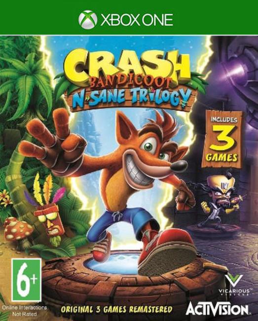 Игра Crash Bandicoot N.Sane Trilogy (Xbox One)
