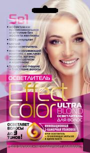 """""""fk"""" Осветлитель для волос ULTRA BLOND серии «Effect Сolor» 50мл"""