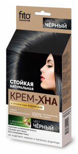 """""""fk"""" Крем-хна Индийская в готовом виде """"Черный"""" 50мл"""