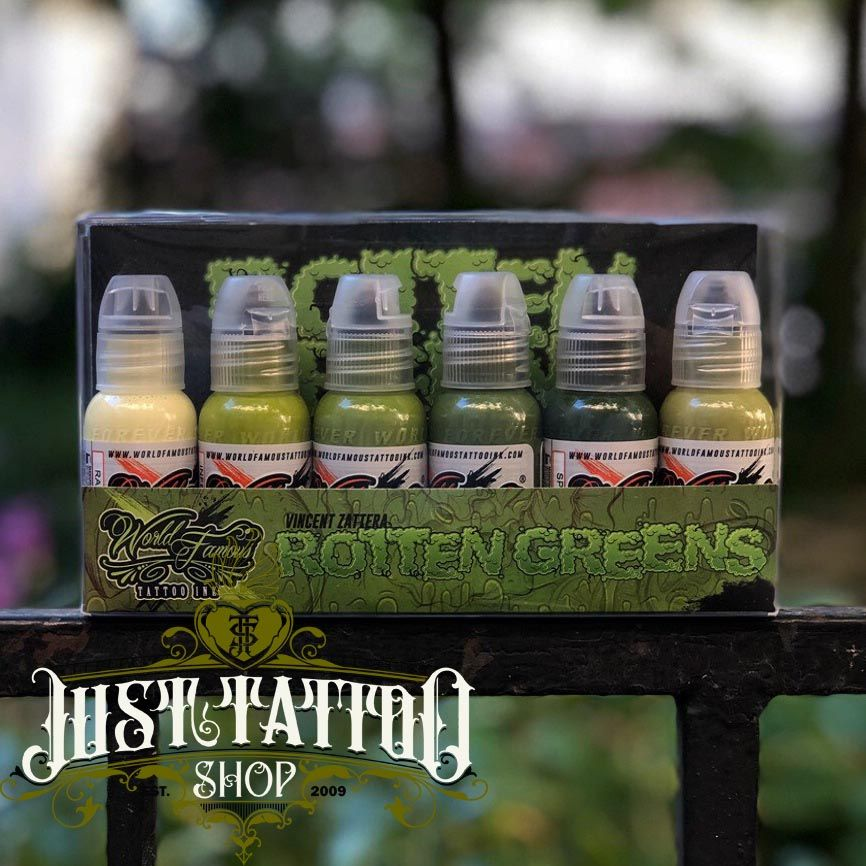 World  Famous Ink Vincent Zatter's Rotten Green