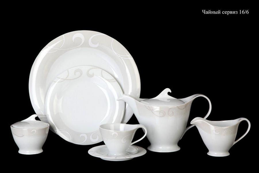 "Чайный сервиз на 6 персон ""Колин"", 16 пр."