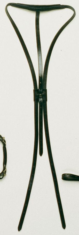 Ремень кожаный для трензельки Hungton