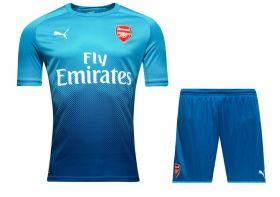 Гостевая голубая  форма Puma  «Арсенала» 17/18 + шорты