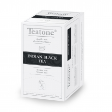 «TEATONE Indian black tea»