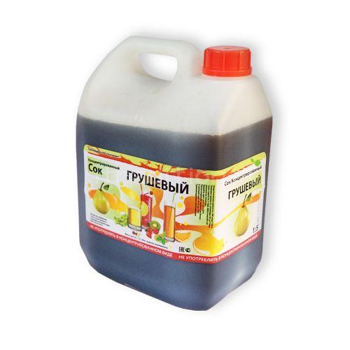 Концентрированный грушевый сок, 5 кг, для сидра