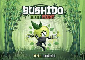 """Е-жидкость Bushido Mint Fight """"Apple Shuriken"""", 100 мл."""