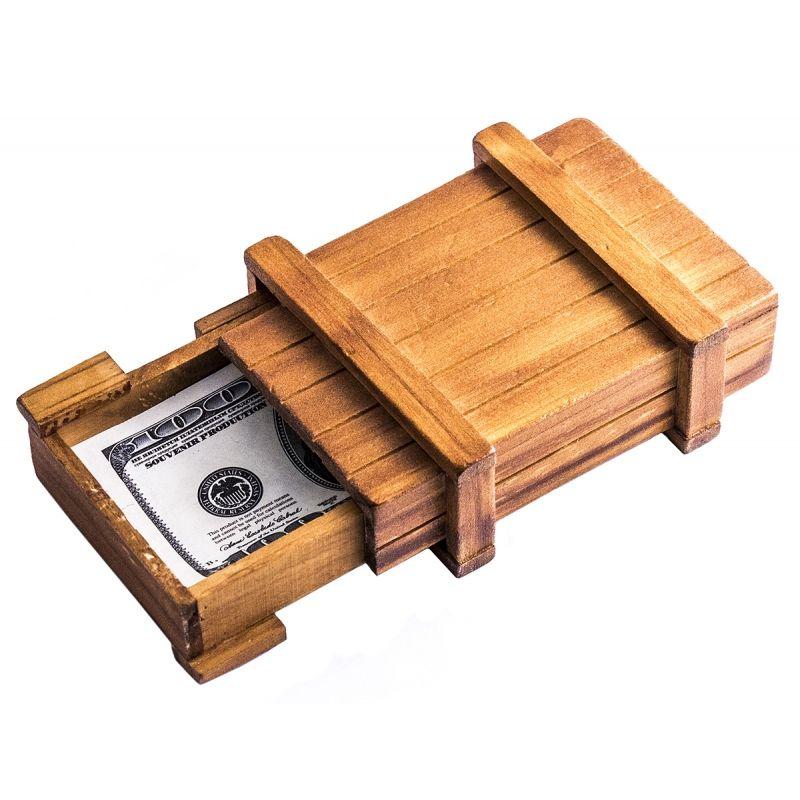 Головоломка деревянная Сейф