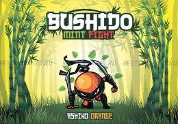 "Е-жидкость Bushido Mint Fight ""Ashiko Orange"", 100 мл."