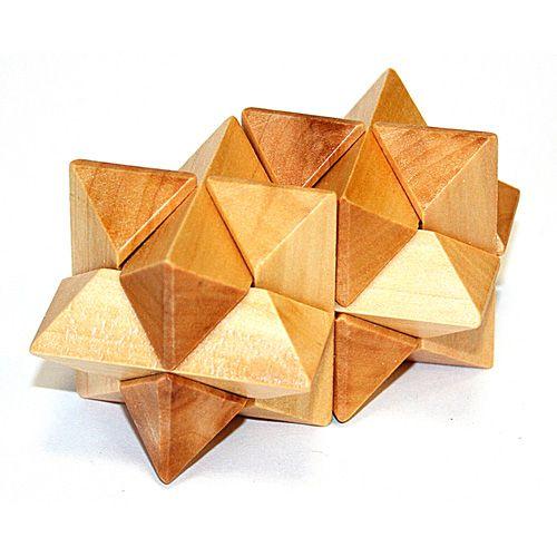 Головоломка деревянная в кор. Созвездие