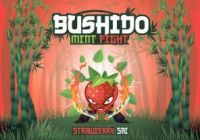 "Е-жидкость Bushido Mint Fight ""Strawberry Sai"", 100 мл."