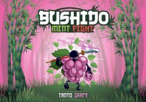 "Е-жидкость Bushido Mint Fight ""Tanto Grape"", 100 мл."
