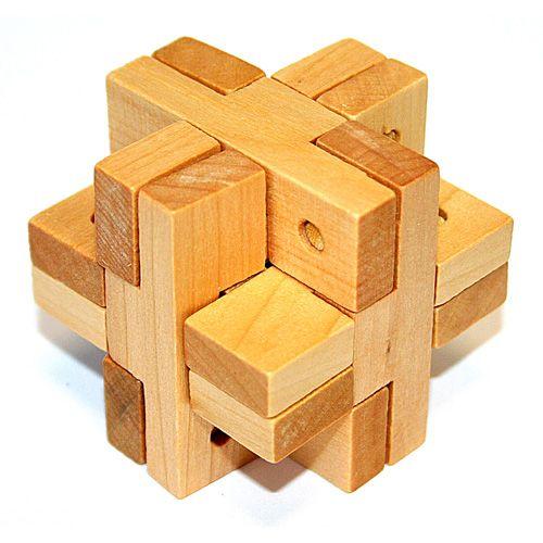 Головоломка деревянная в кор. Ворон