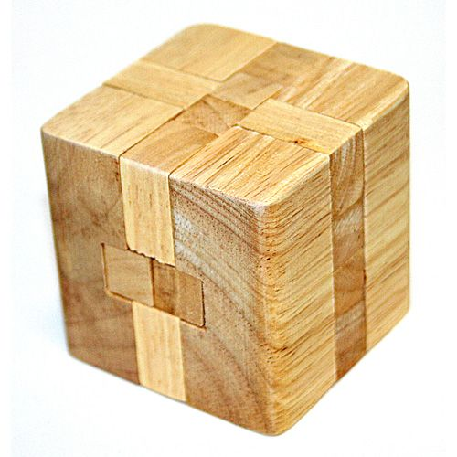 Головоломка деревяная в кор.Тэта