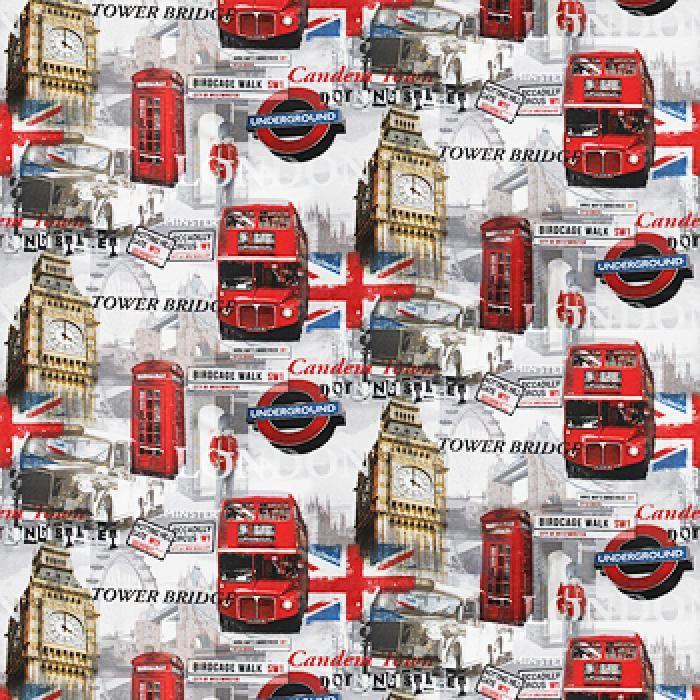 Жаккард ОТ12 Лондон Бус А01