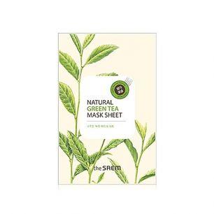 """""""СМ"""" Natural Green Tea Mask Sheet Маска тканевая с экстрактом зеленого чая  21мл"""
