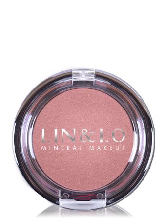 LIN&LO Румяна компактные минеральные LLBL18 восточная роза
